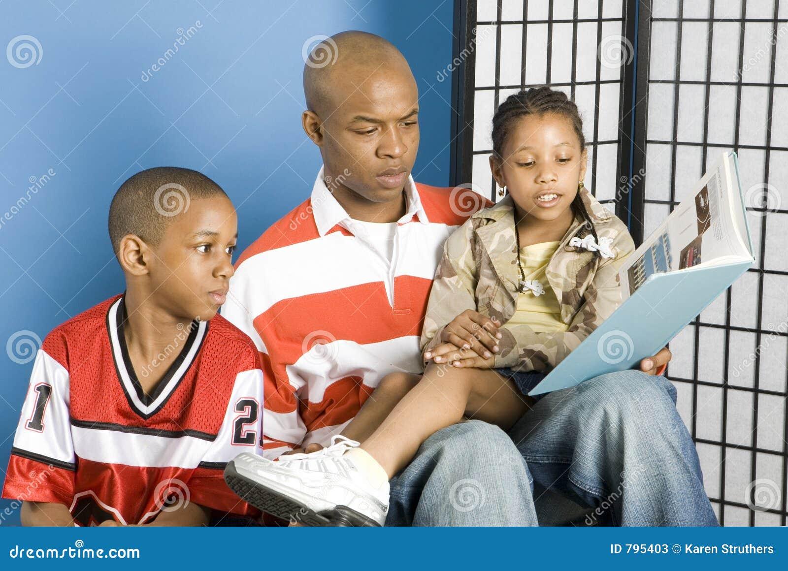 Barn avlar hans avläsning till
