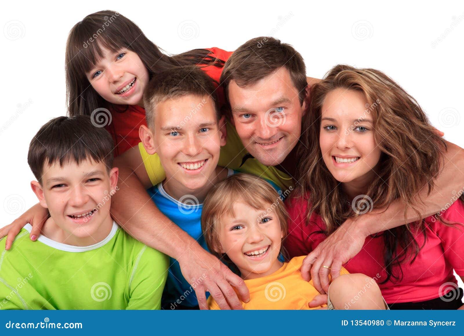 Barn avlar lyckligt