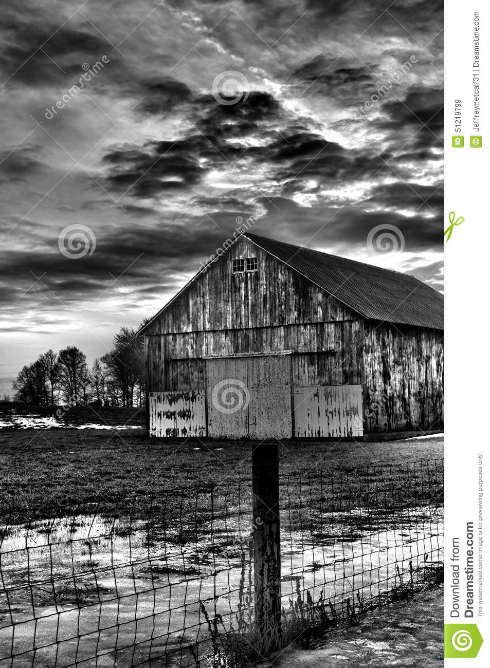 Barn in black and white with cloudy background stock image image download barn in black and white with cloudy background stock image image of having altavistaventures Images