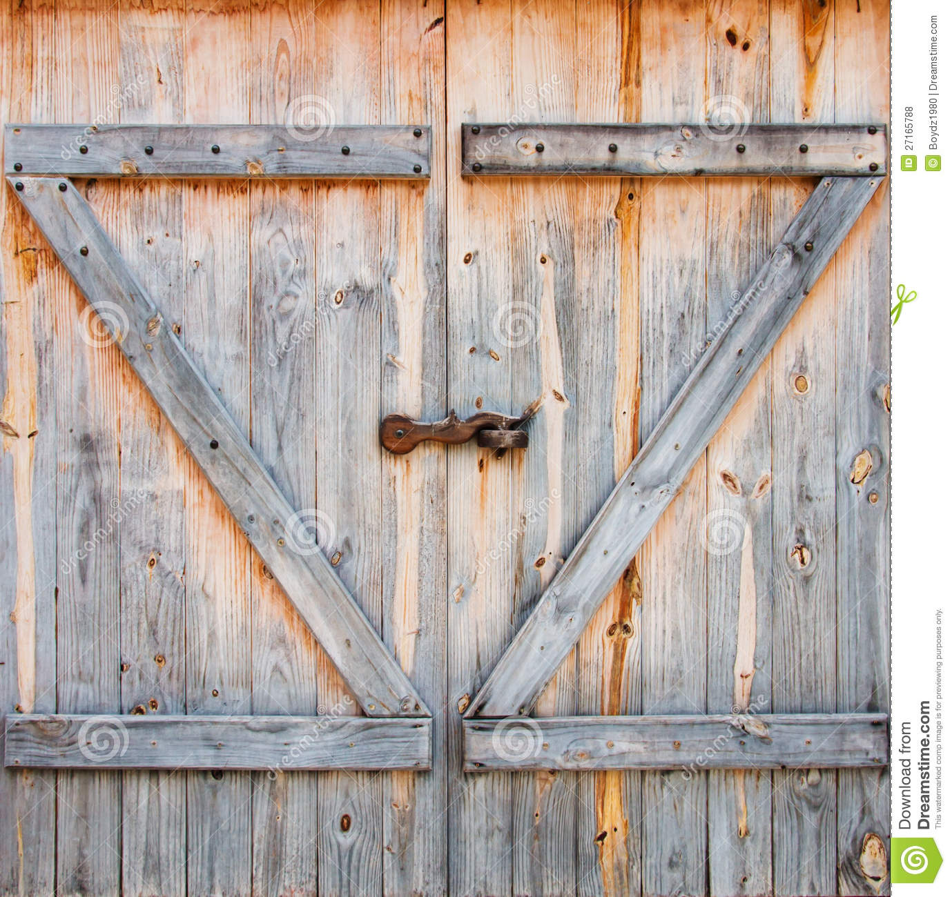 Barn door stock photo image of decor gate front close for Barn door images