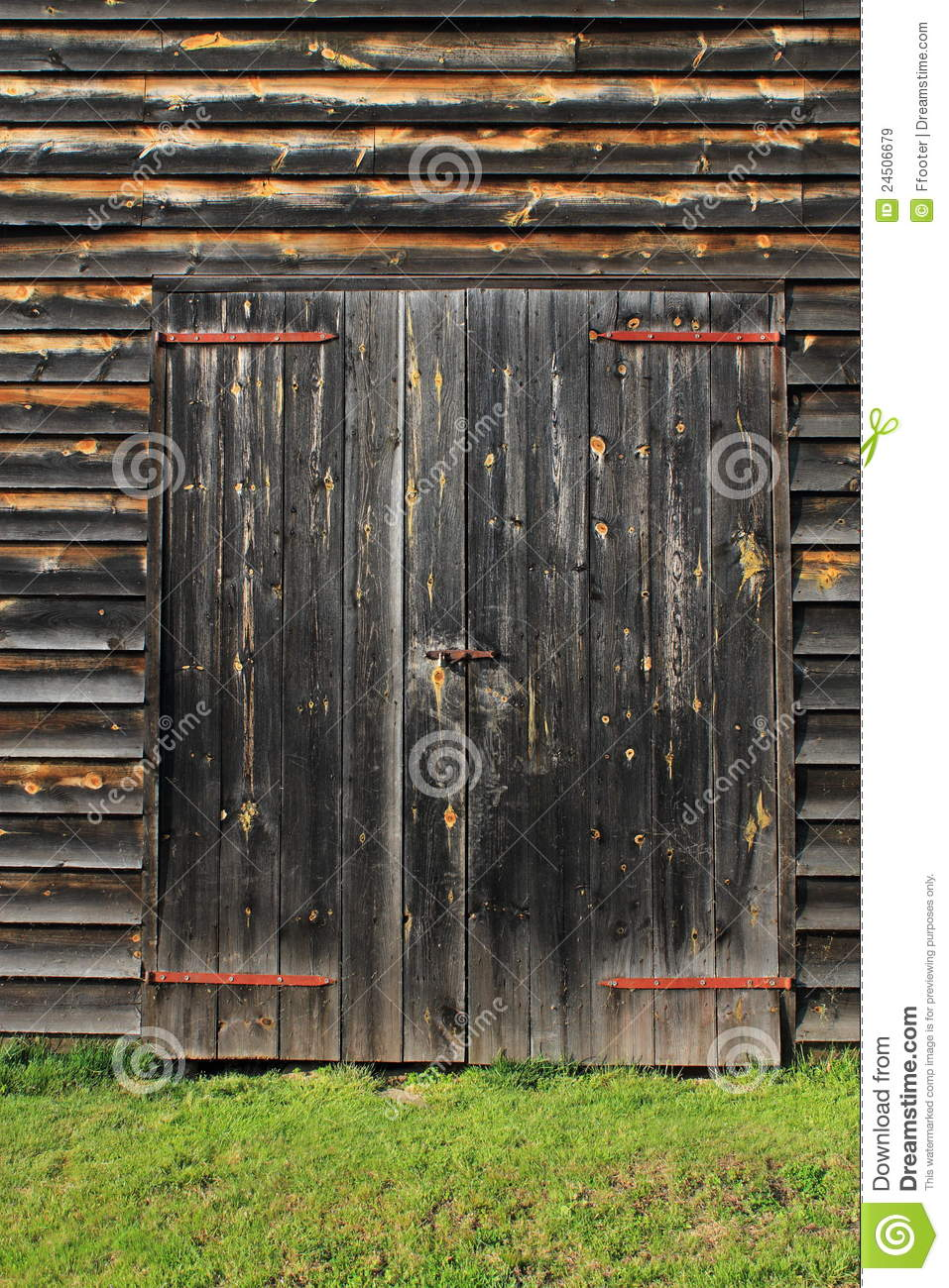 Barn Door Background Royalty Free Stock Images Image
