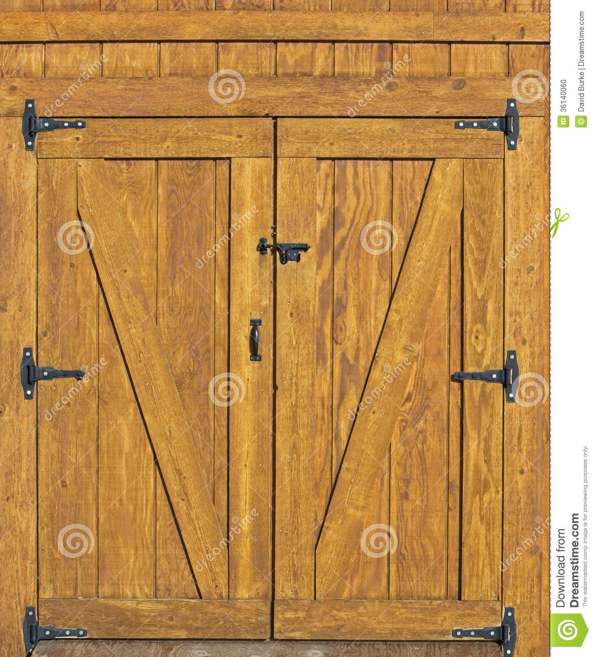 Barn Door Background Stock Photo Image 36140060