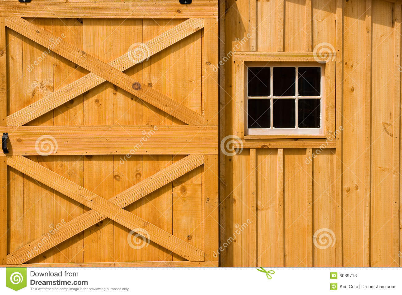 Barn Door And Windows Stock Image Image Of Farming