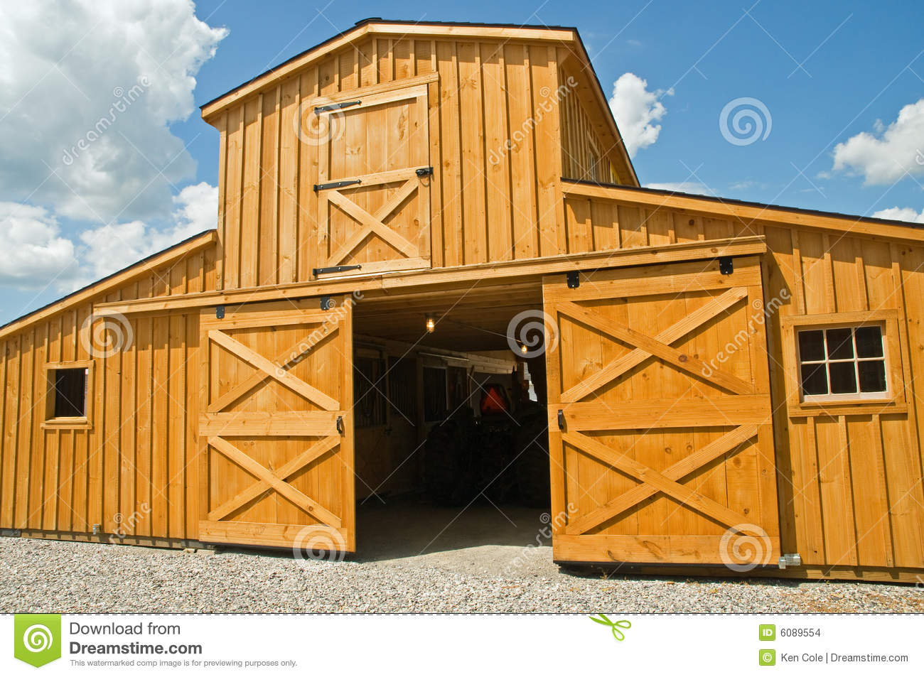 Barn Doors And Windows Stock Images Image 6089554