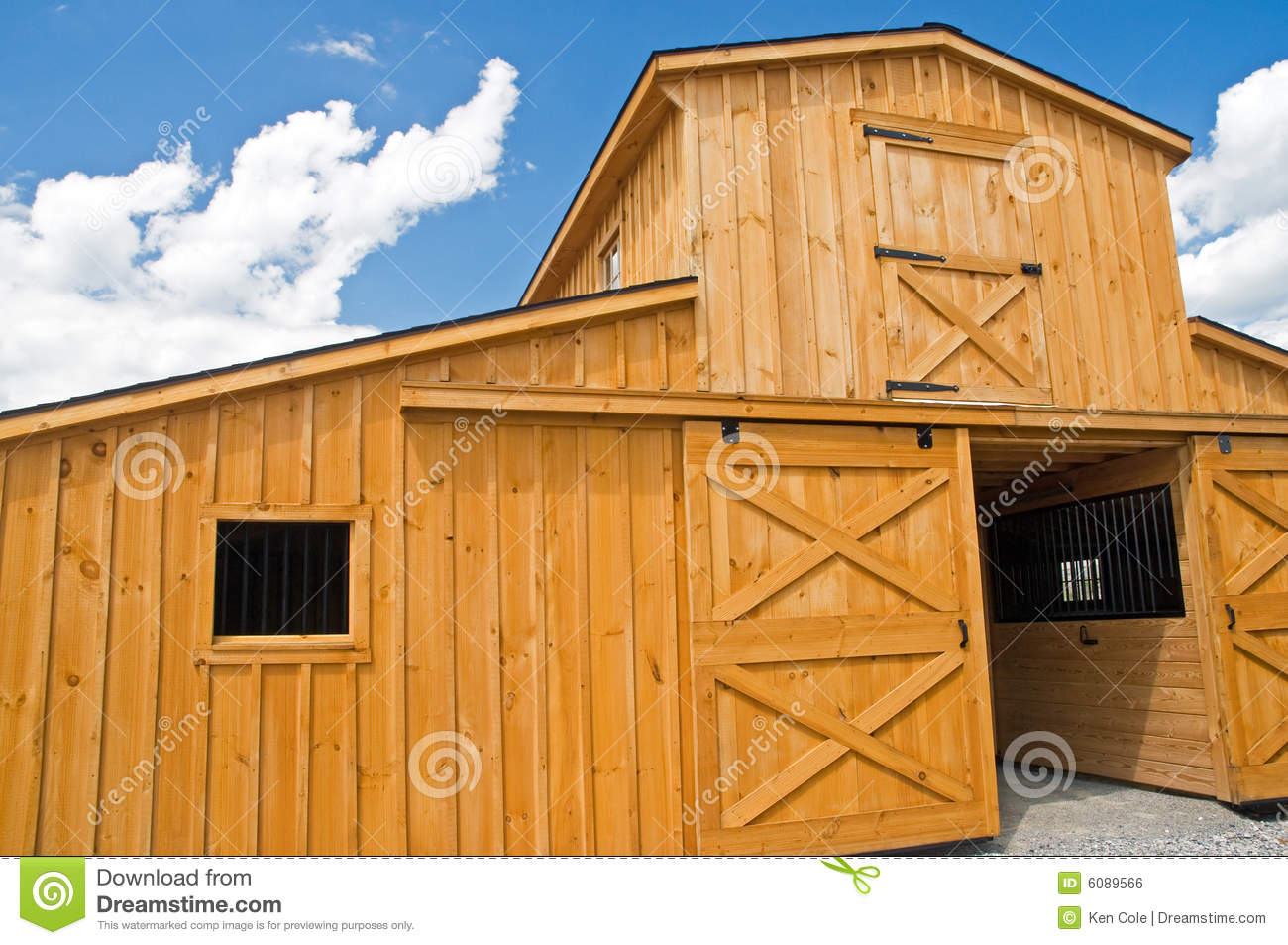 Barn doors and windows royalty free stock image image for Farm sliding door