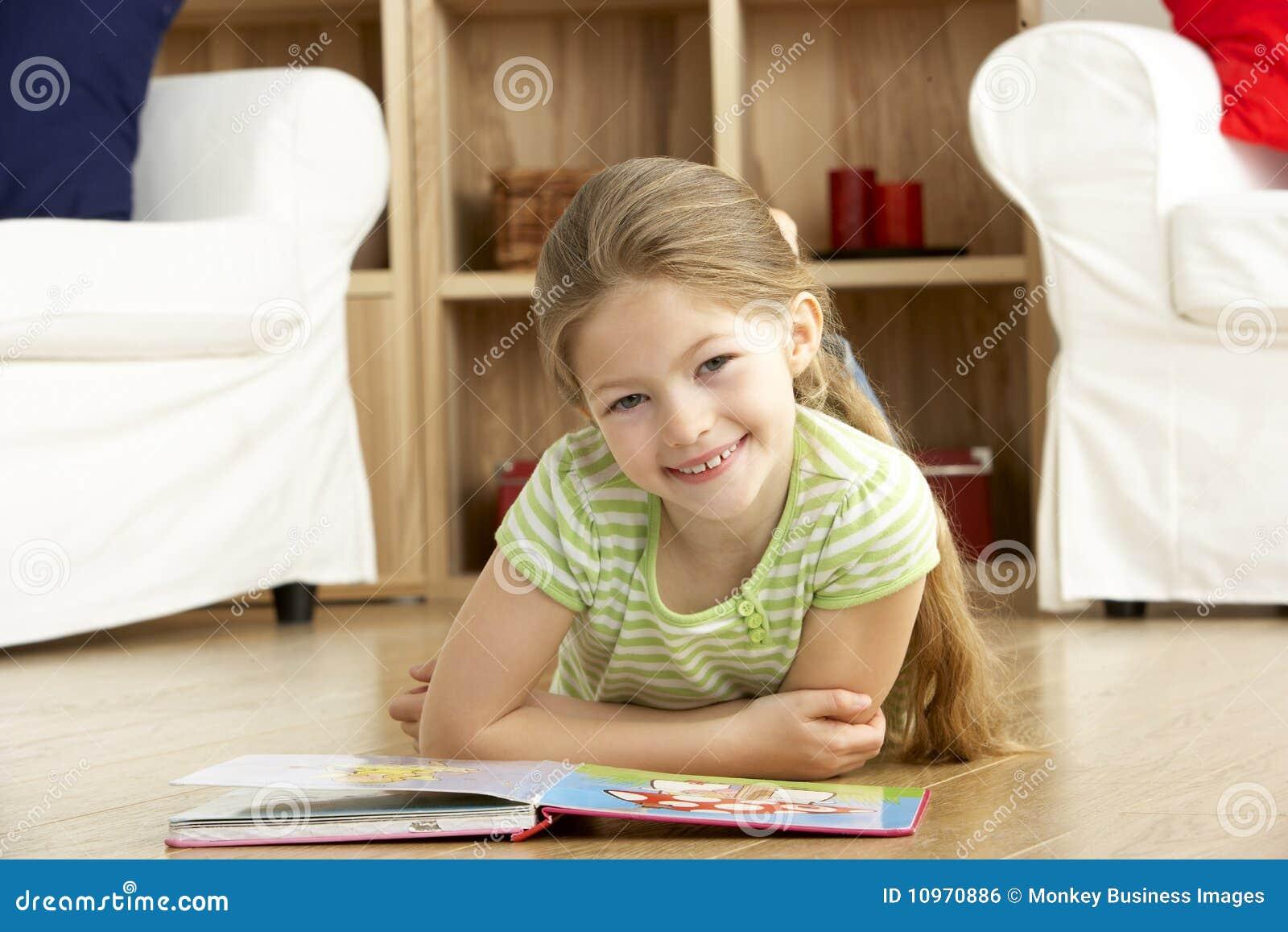 Barn för avläsning för bokflickautgångspunkt