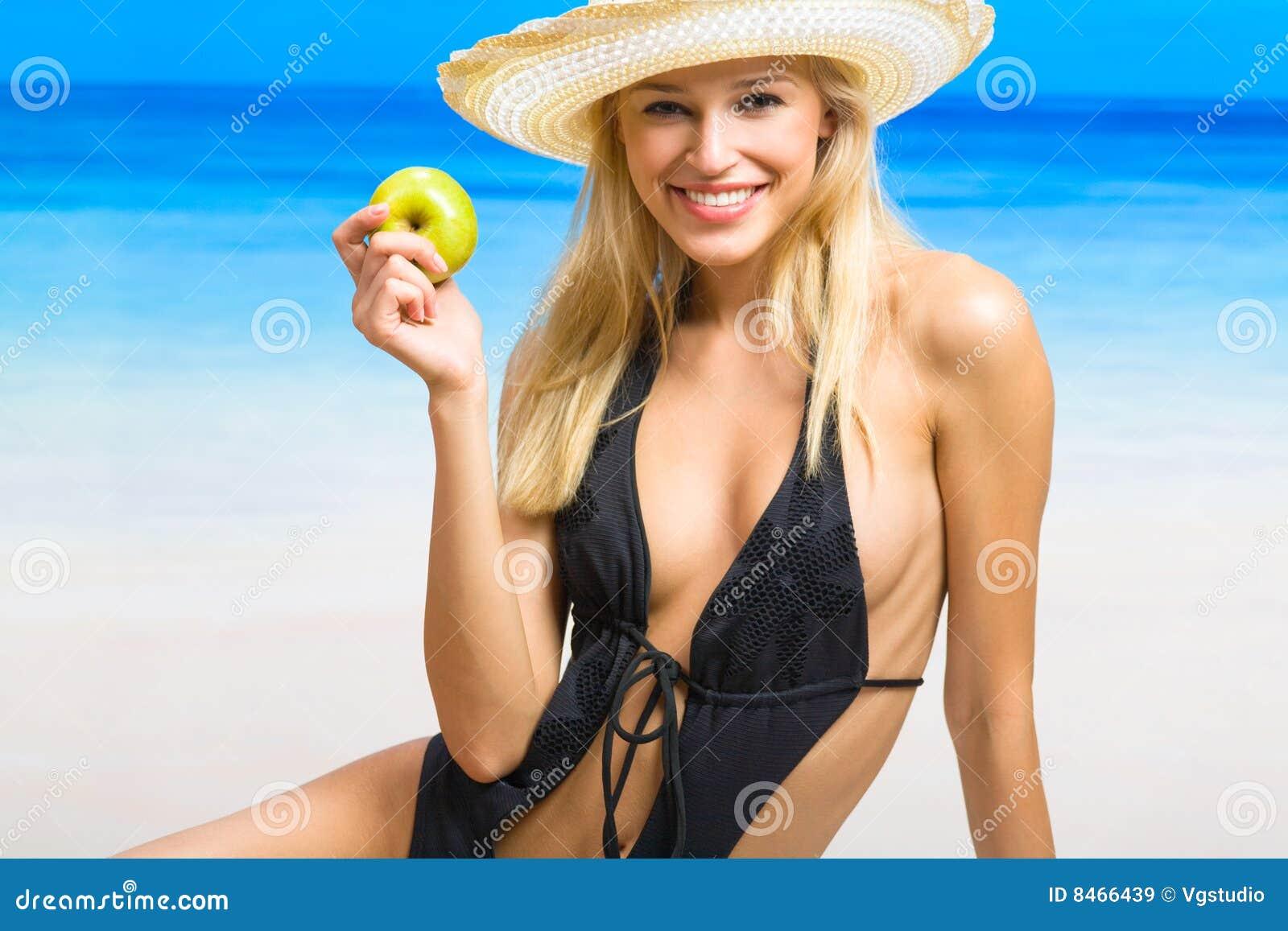 Barn för strandhavskvinna