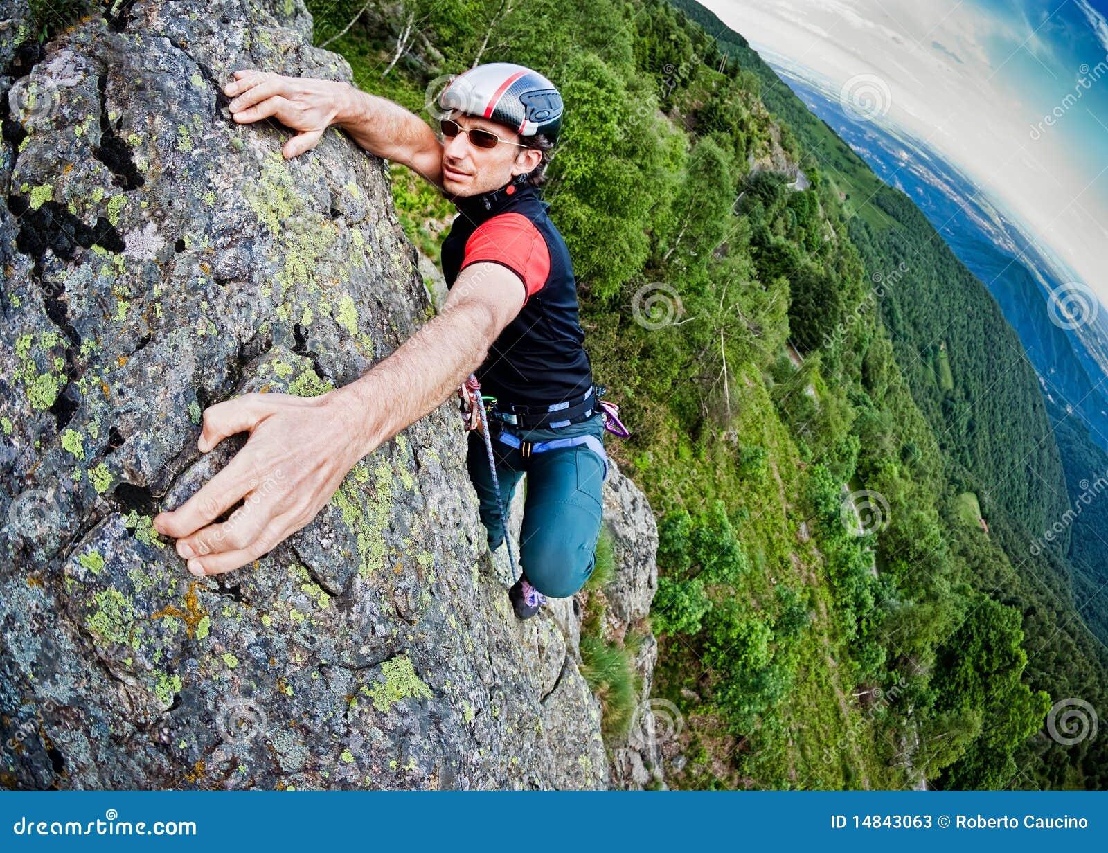 Barn för white för vägg för klättringman brant