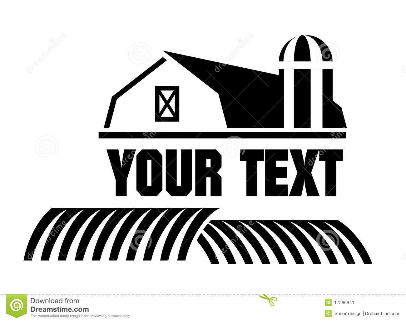 Barn And Farm Icon Stock Image - Image: 17266941