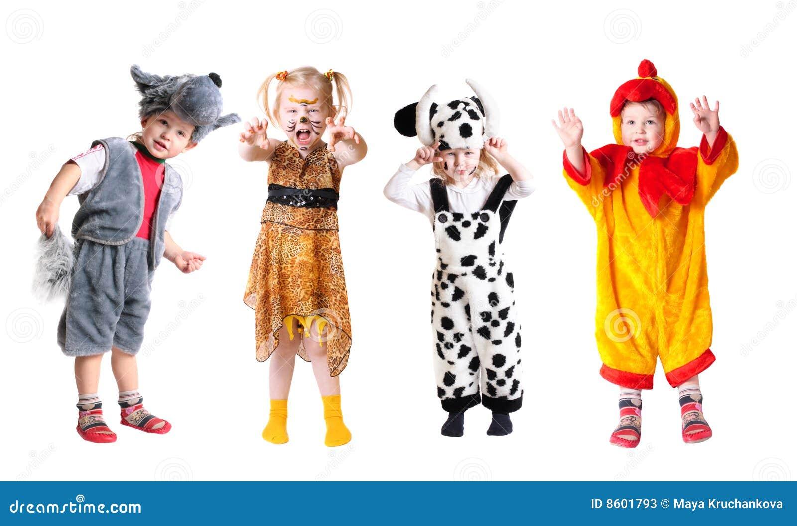 Barn klär infall