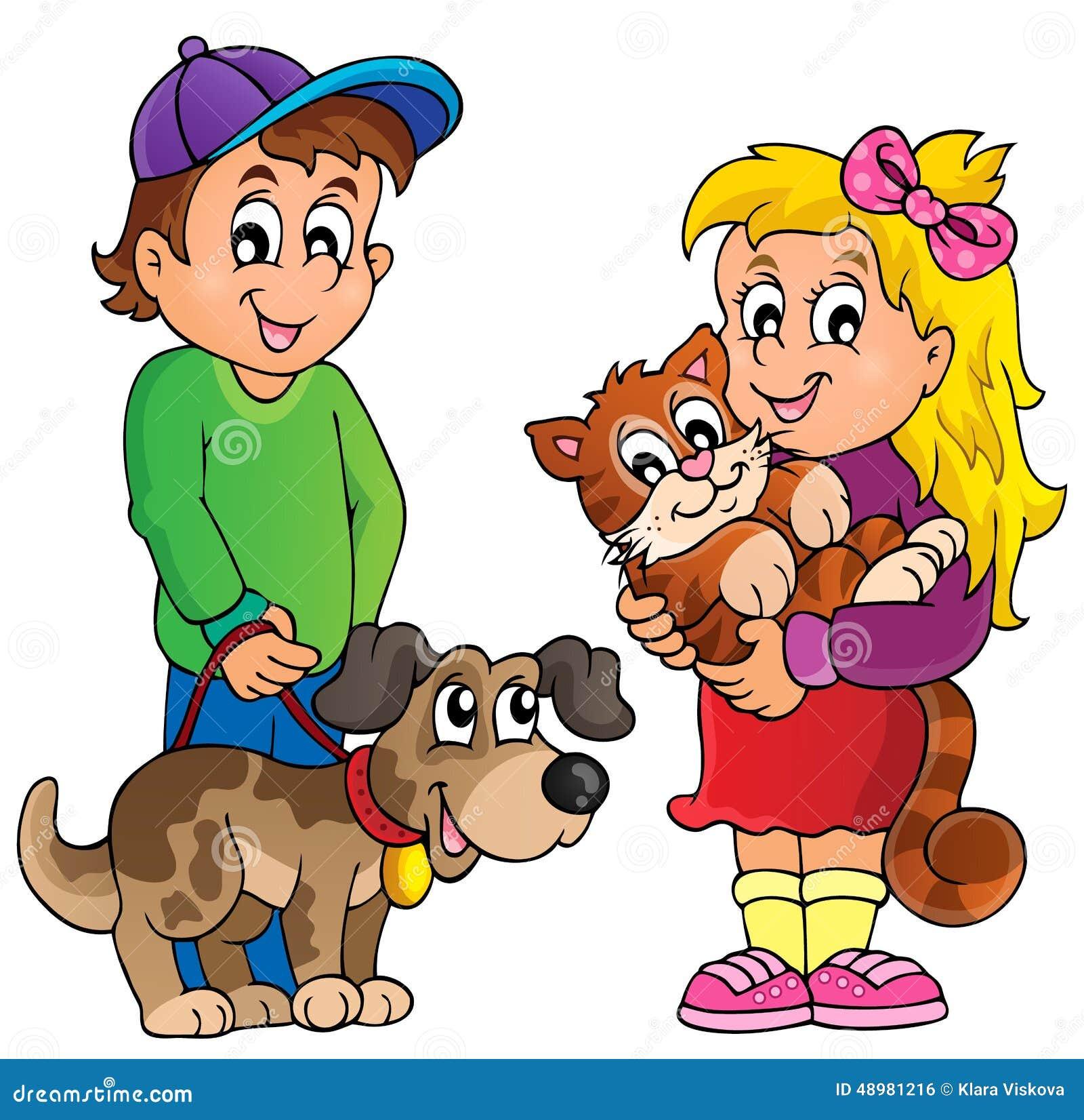Barn med husdjurtema 1