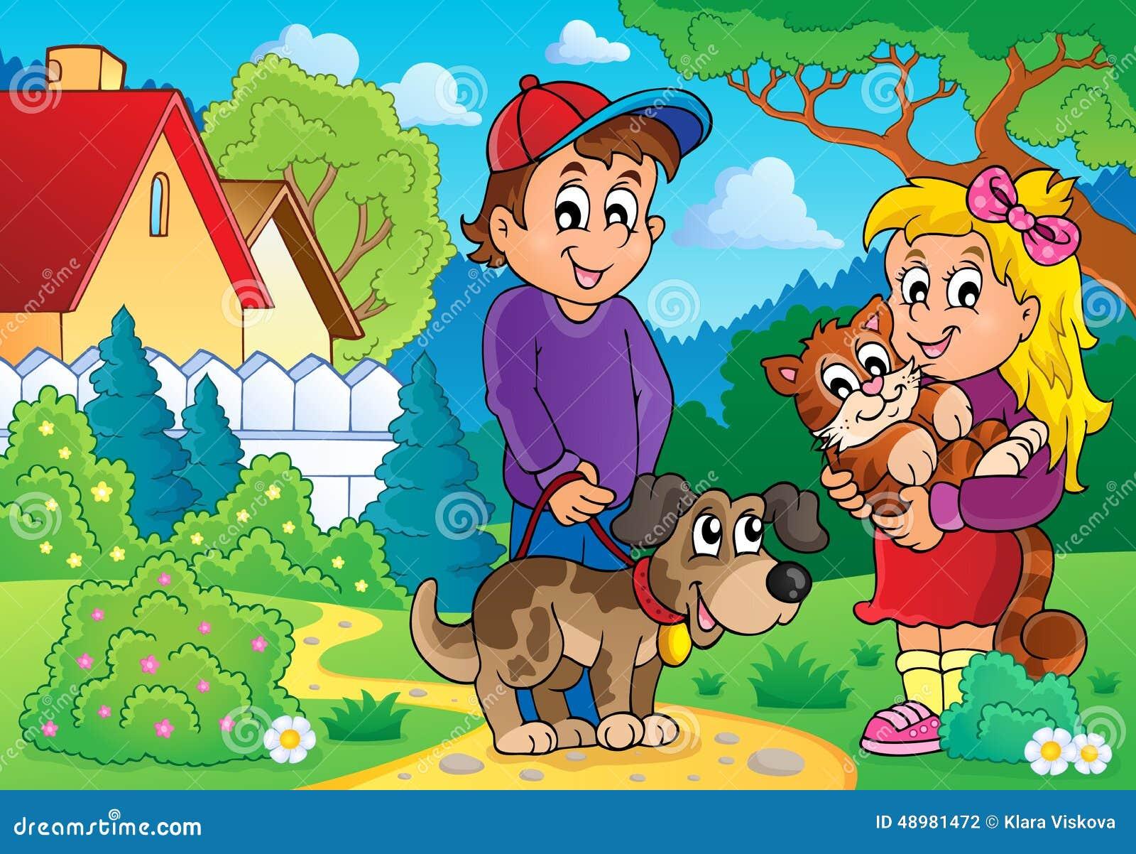 Barn med husdjurtema 2