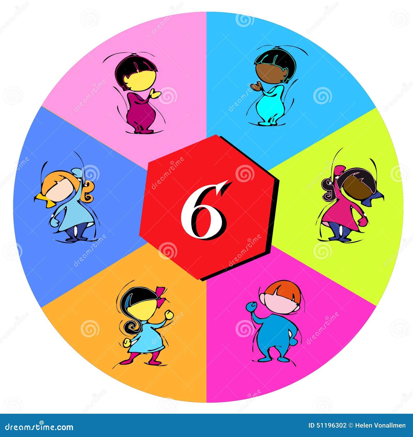 Barn med nummer sex