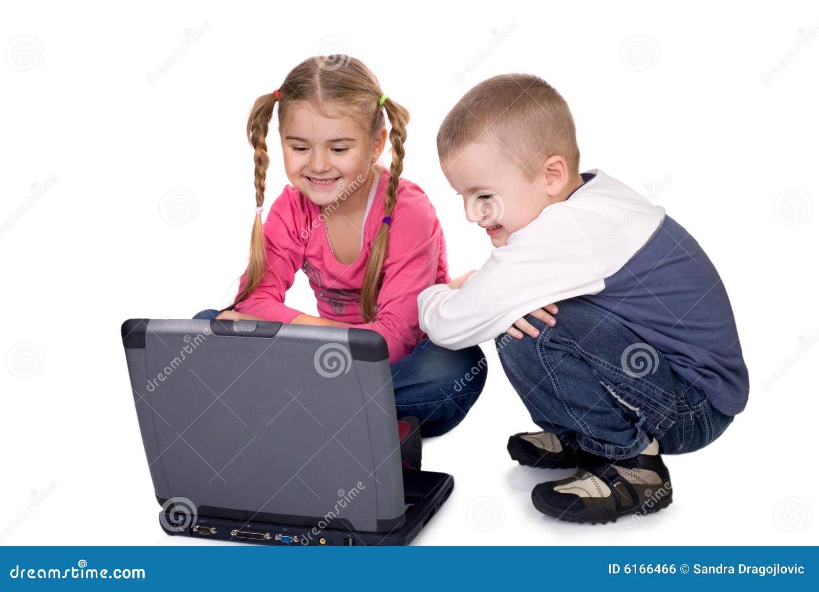 Barn och dator