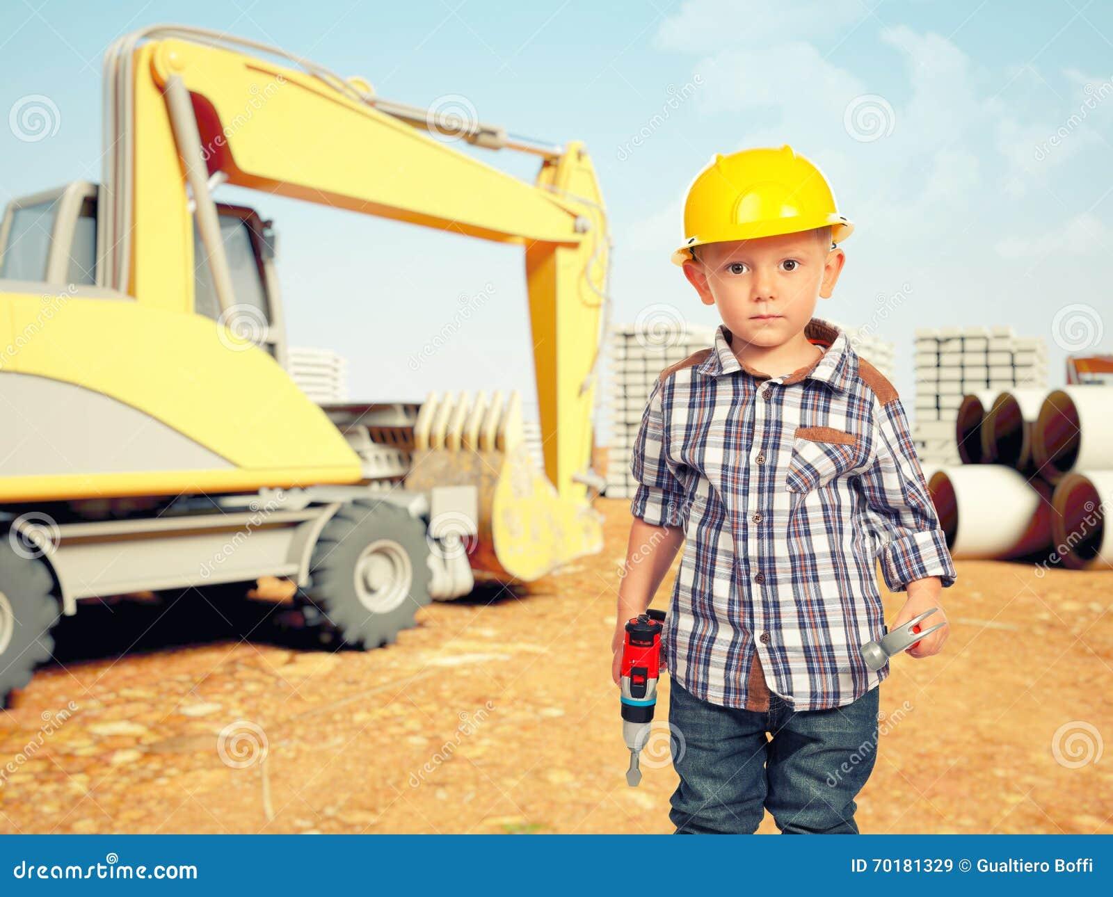Barn- och konstruktionsplats