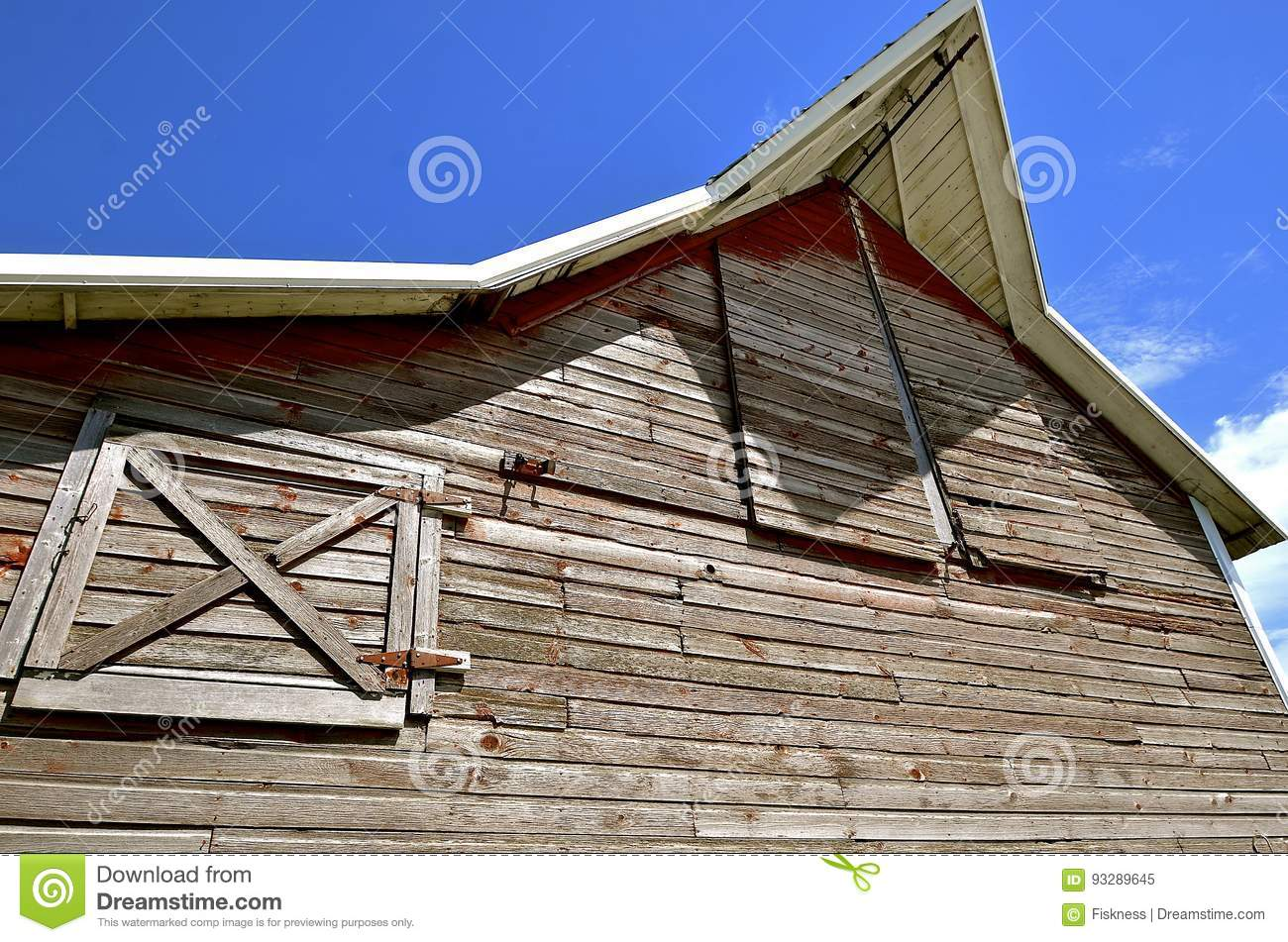 Barn overhang and hay loft doors Royalty Free Stock Photo & Barn Hay Loft Door Stock Photos - Royalty Free Pictures pezcame.com