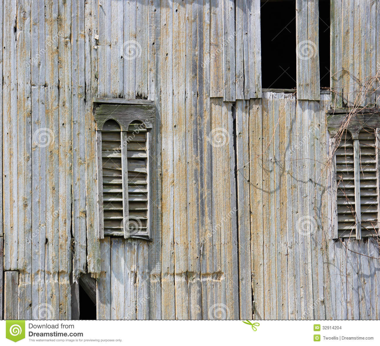 Barn Siding Stock Images Image 32914204