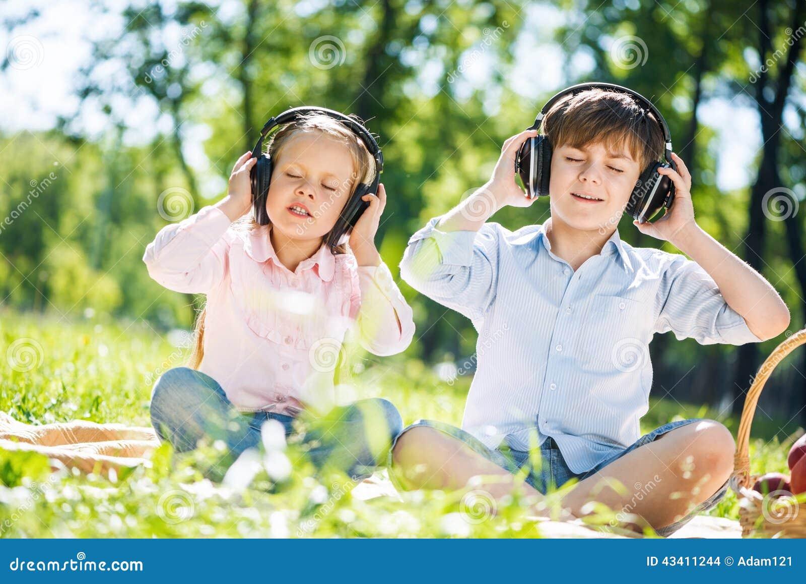Barn som tycker om musik