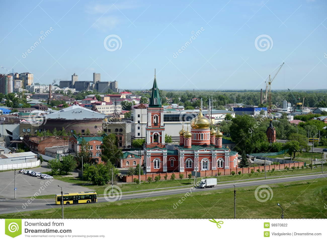 Where is Barnaul, in what area 60