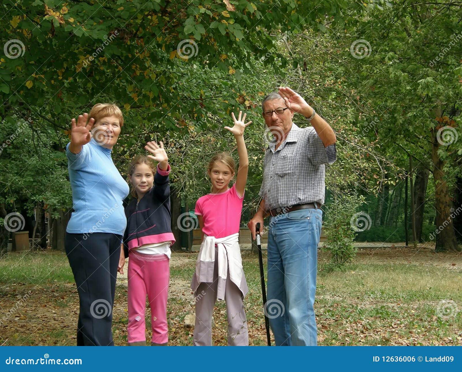 Barnbarnmorföräldrar