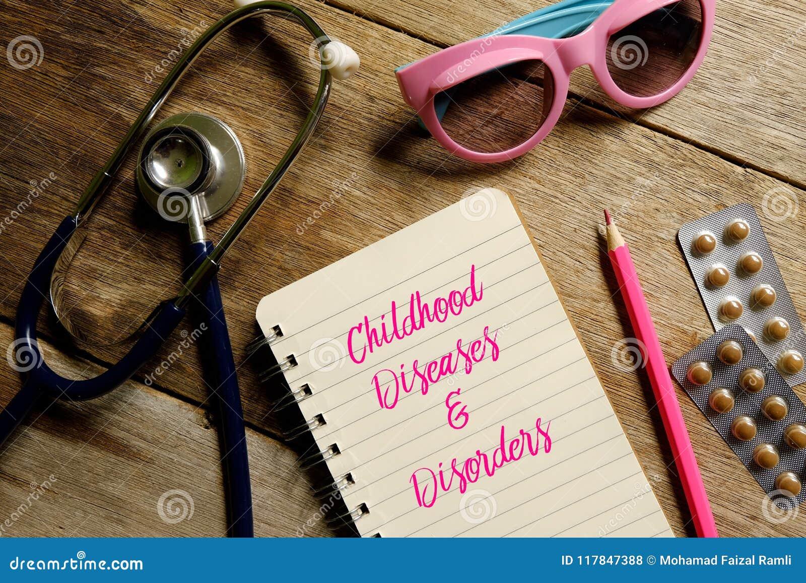Barndomsjukdomar och oordningar