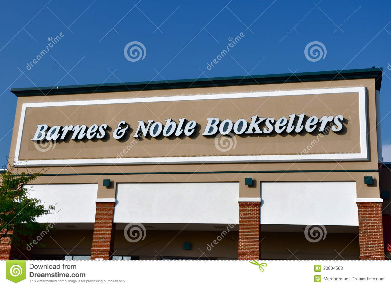 Barnes & Noble Booksellers Store Editorial Stock Photo - Image ...