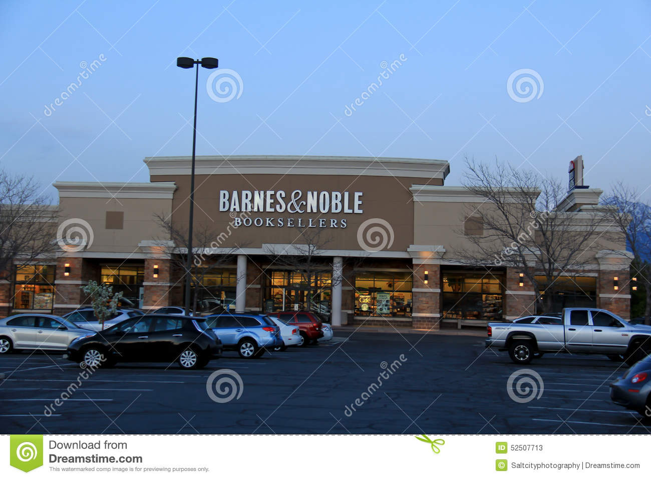 Barnes & Noble Editorial Stock Photo - Image: 52507713