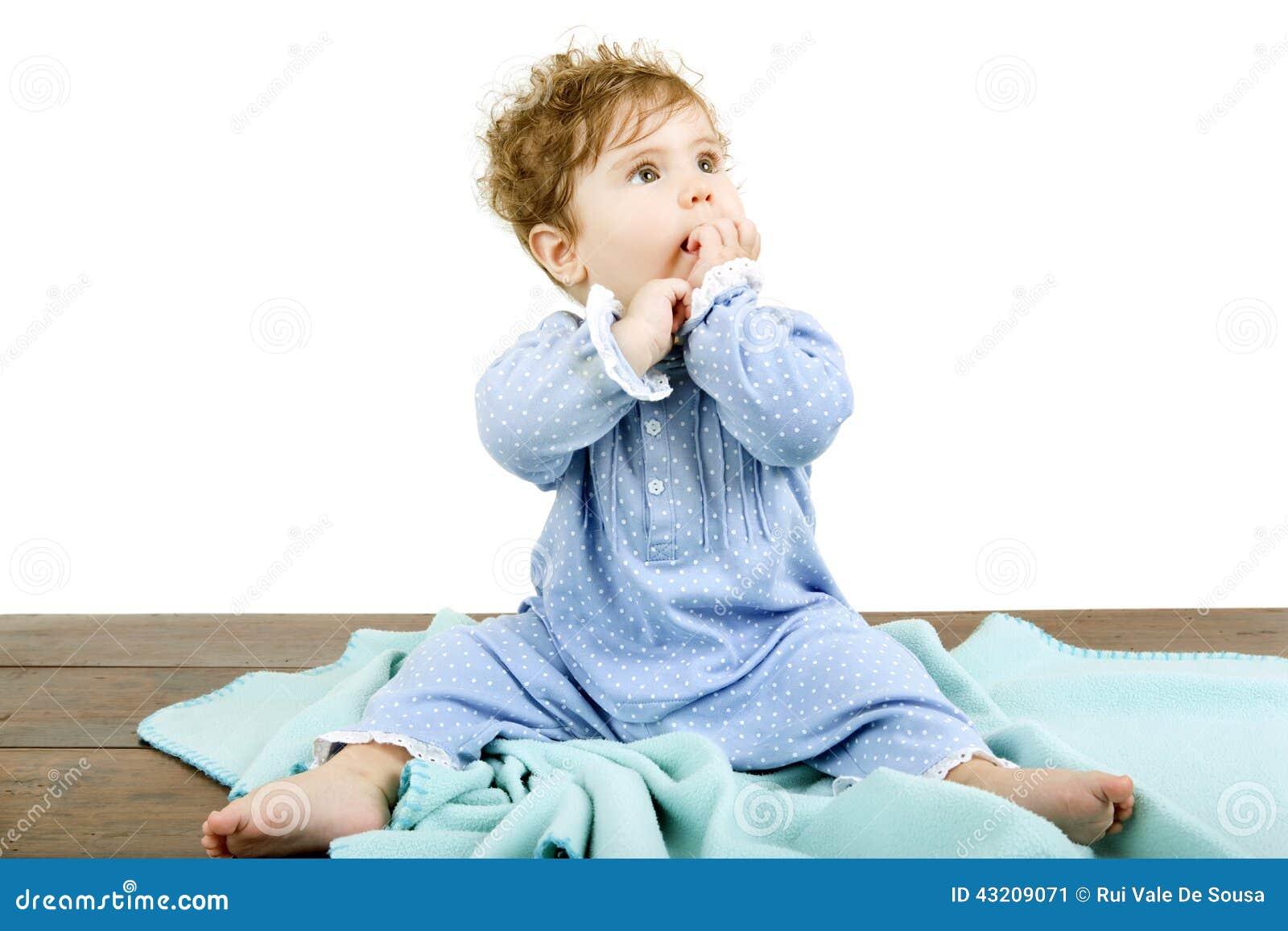 Download Barnet Behandla Som Ett Barn Ståenden Fotografering för Bildbyråer - Bild av spädbarn, glädje: 43209071