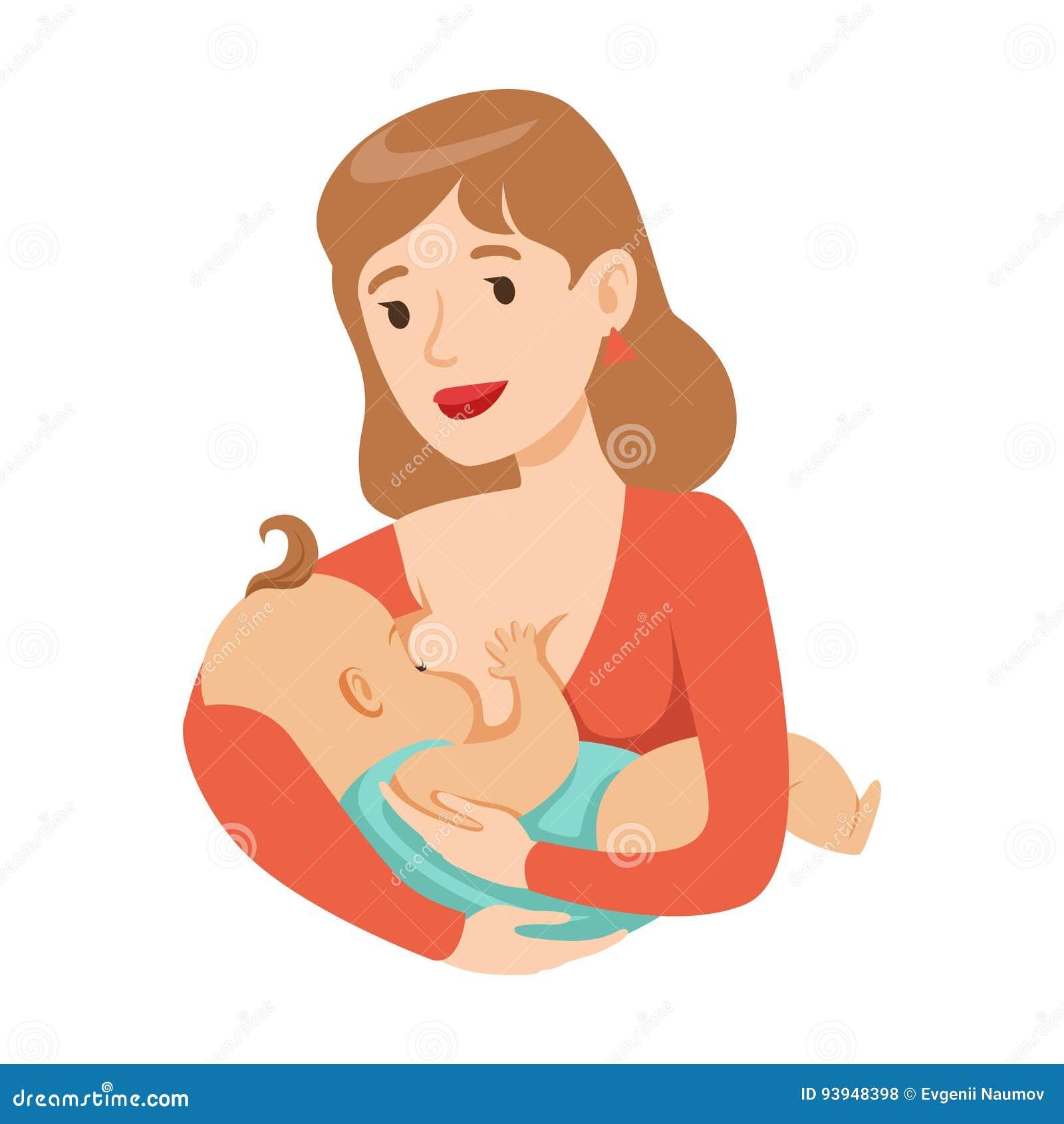 Barnet Fostrar Att Amma Henne Behandla Som Ett Barn Med