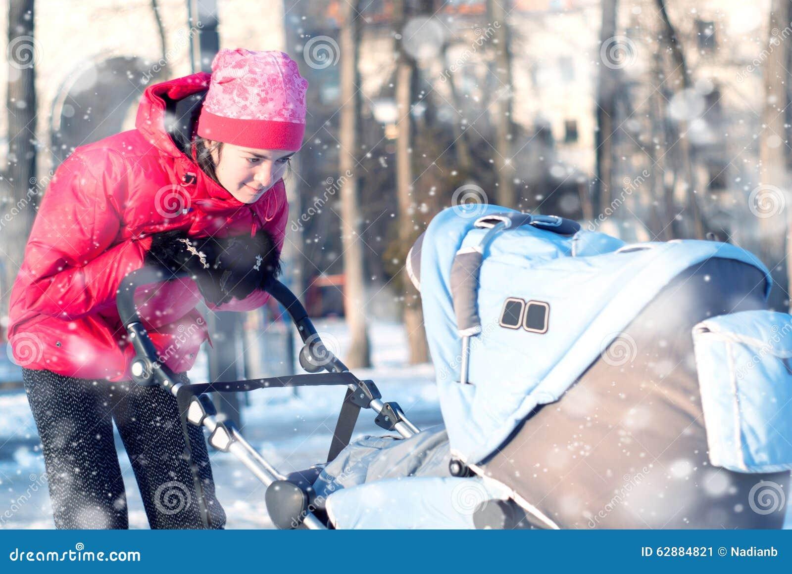 Barnet fostrar med behandla som ett barn i vinter