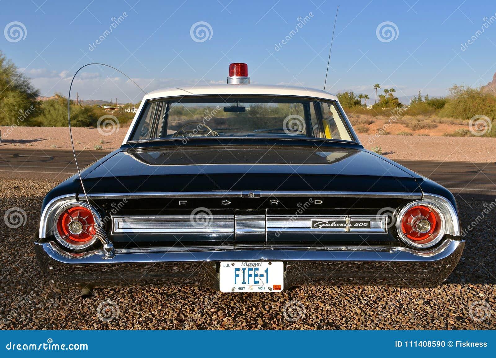 Barney Fife Deputy Ford Car