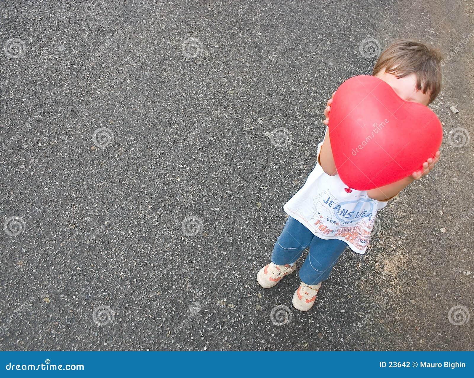 Barnhjärta little som är min