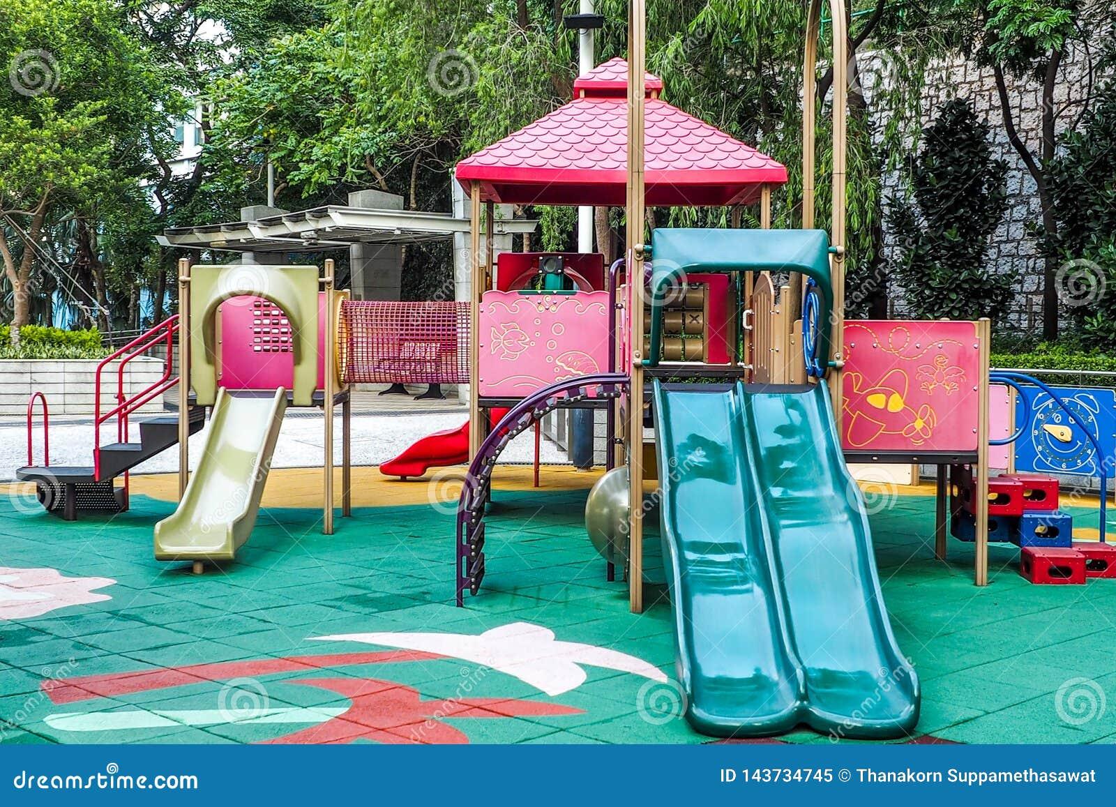 Barnlekplats med inget, Hong Kong
