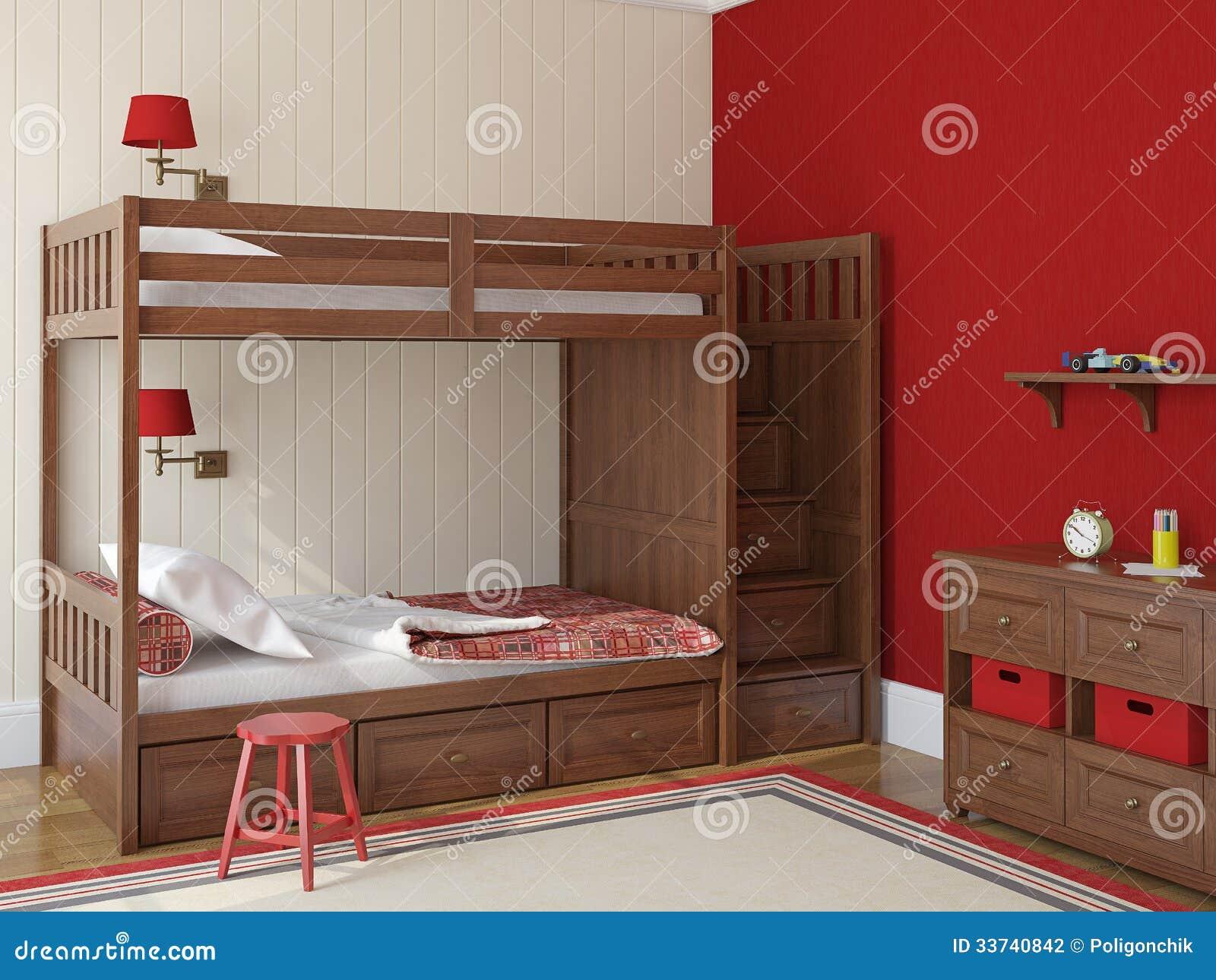 Barns sovrum arkivbild   bild: 33740842