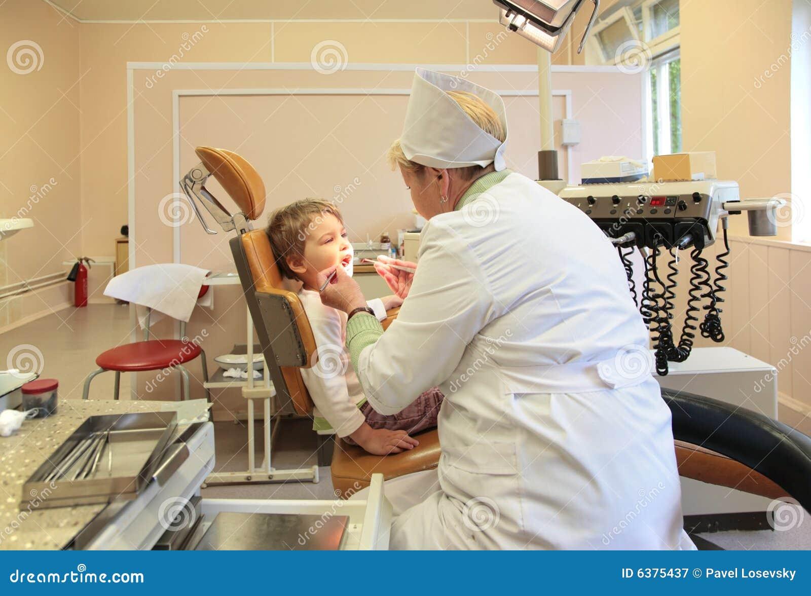 Barnstomatologisttänder till treats