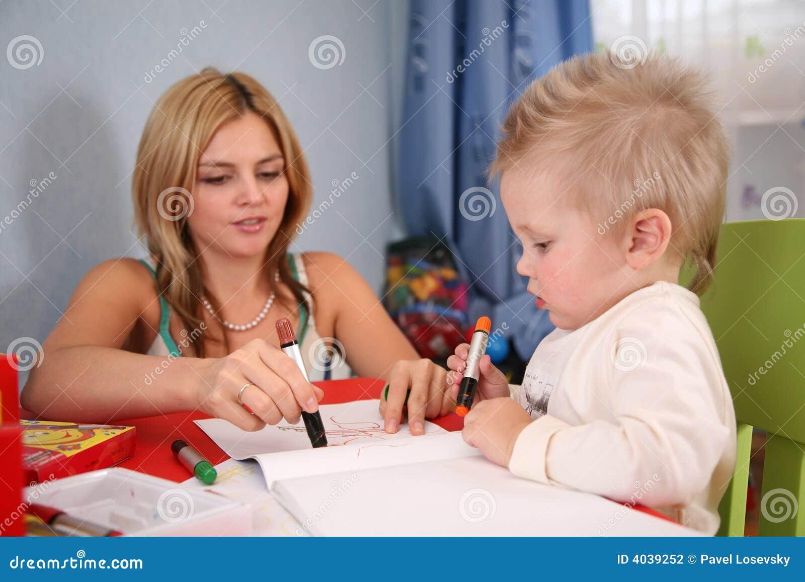 Barnteckningsmoder