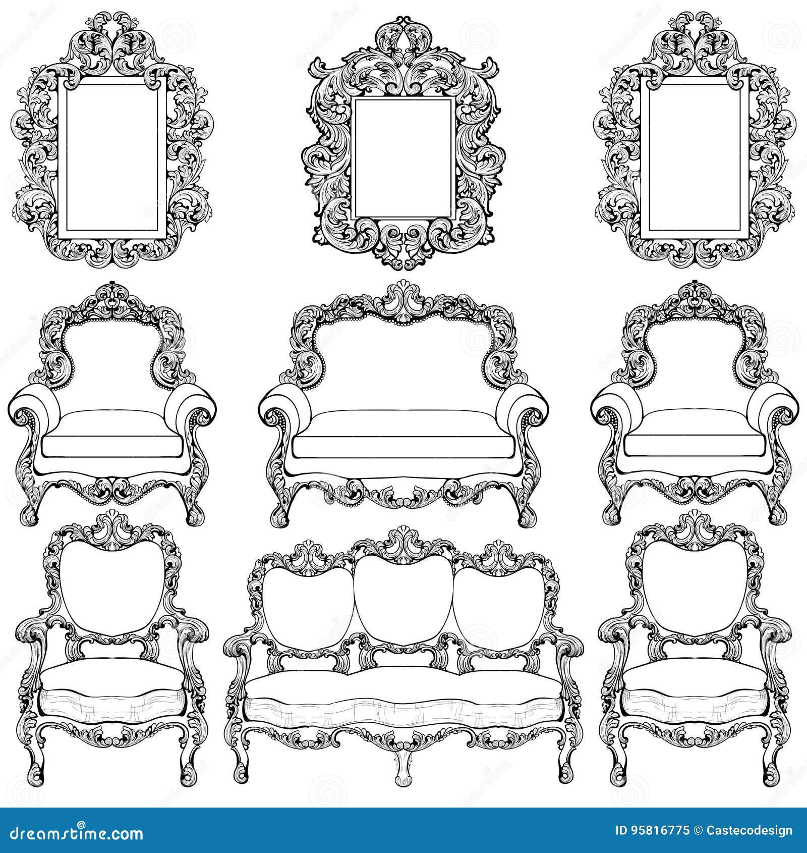 Stunning franzosische luxus einrichtung barock design for Ideen einrichtung