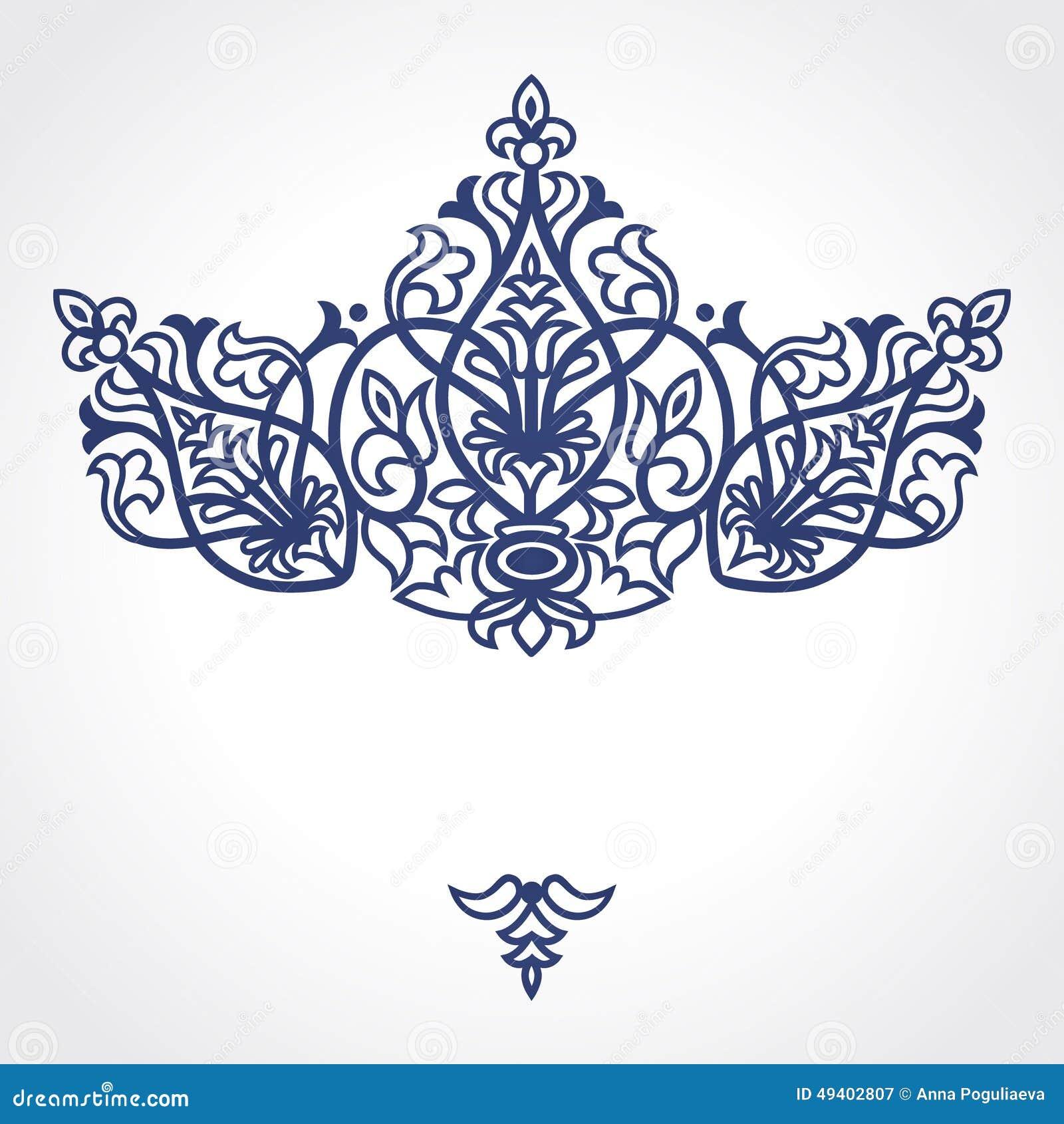 Download Barocke Verzierung Des Vektors Im Viktorianischen Stil Vektor Abbildung - Illustration von arabisch, auszug: 49402807