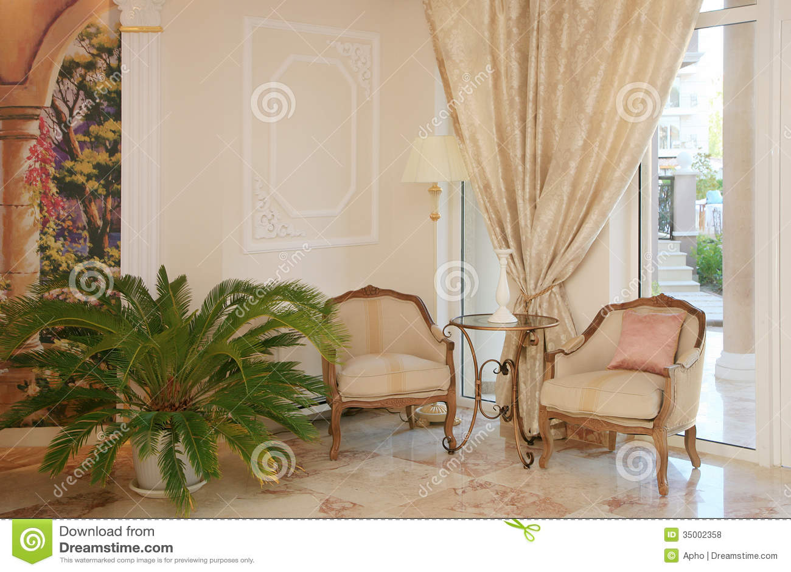 Barocker Arthotelinnenraum