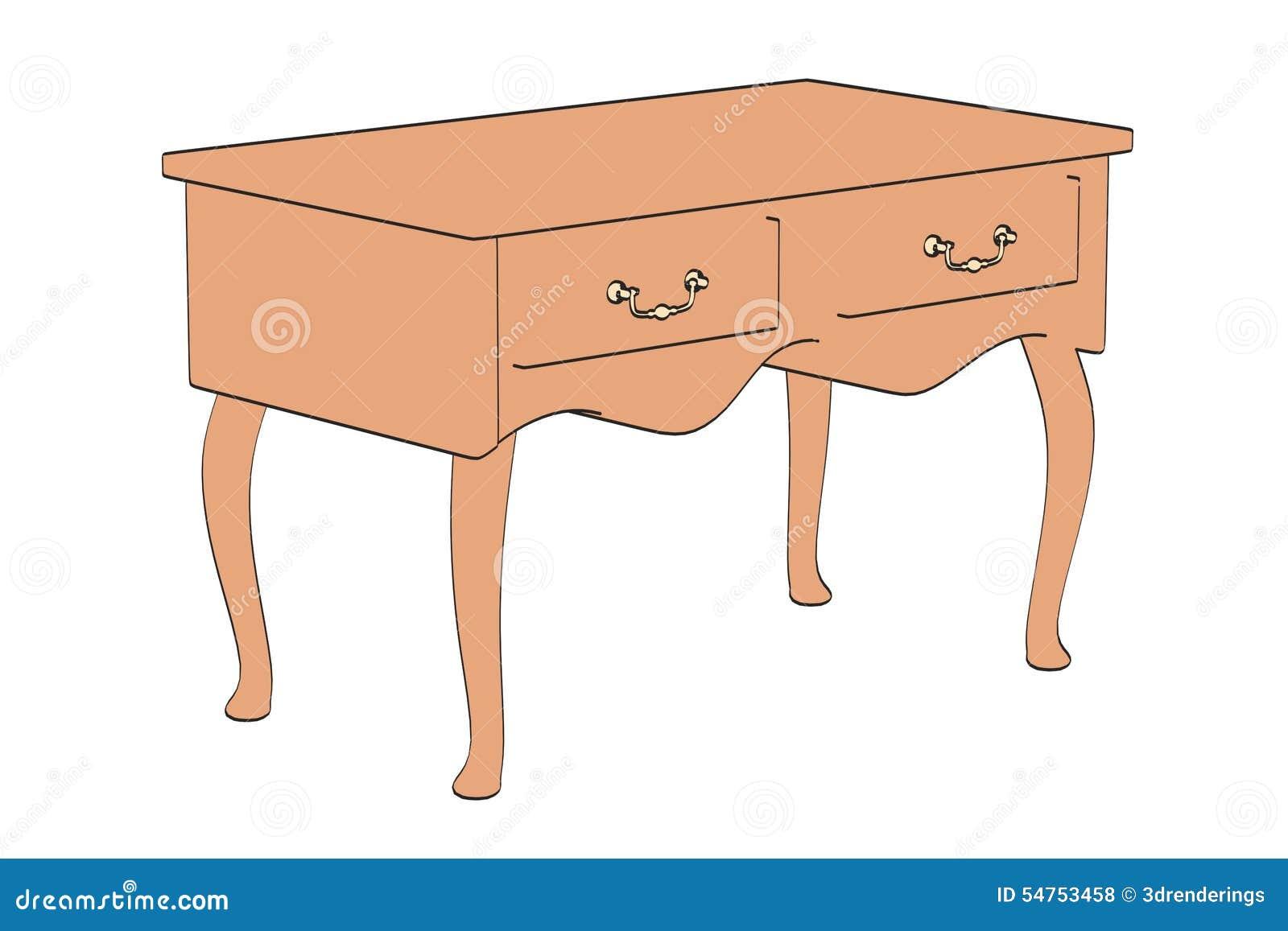 Barocker schrank stock abbildung bild von zeichnung for Schrank zeichnung
