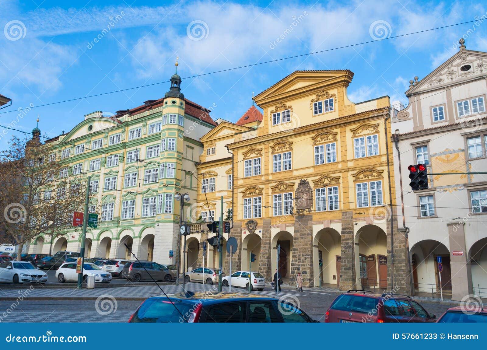 Barok domy w Prague