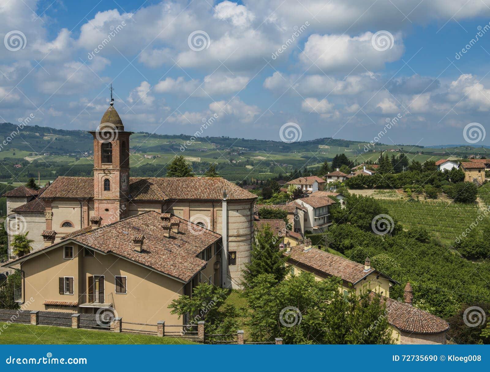 Barolo vinområde Grinzane Cavour, Piedmont