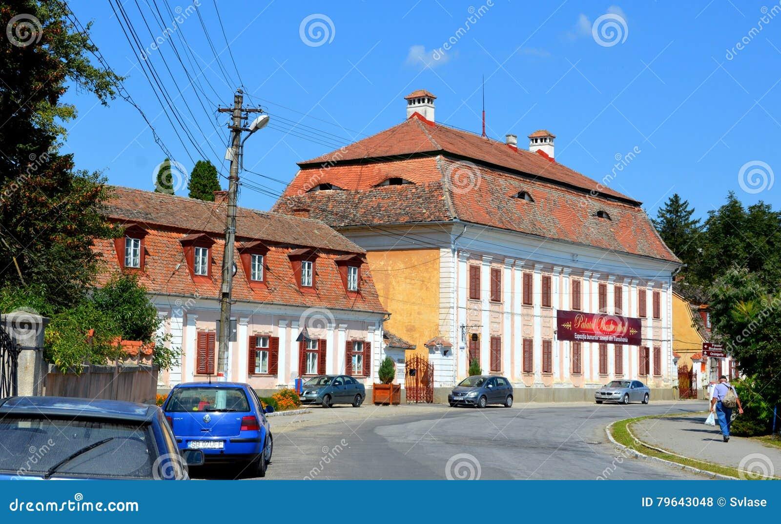 Baron von Brukenthal Palace en Avrig, Transilvania