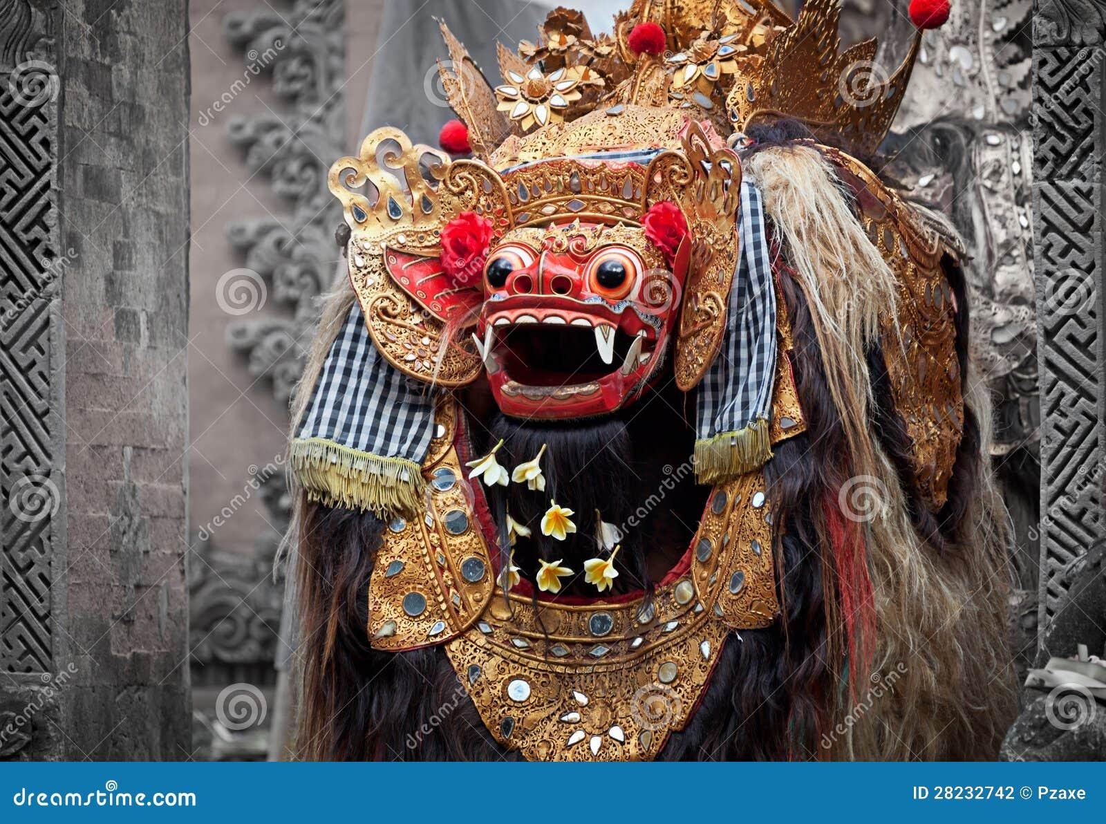 Barong - характер в мифологии Бали, Индонезия.