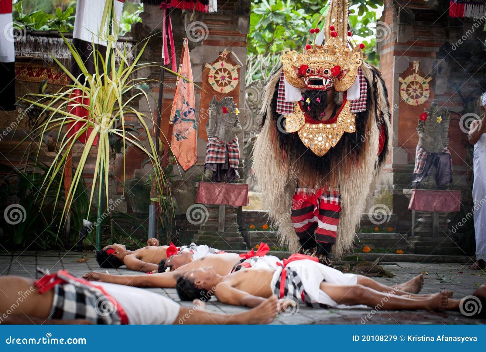 Barong Dance Batubulan
