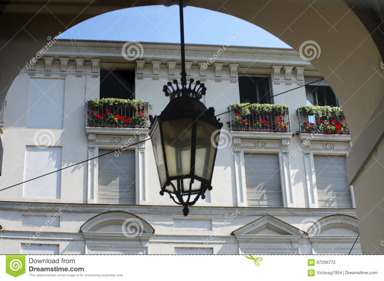 Baroque balcony stock photo 87208824 for Balcony cartoon