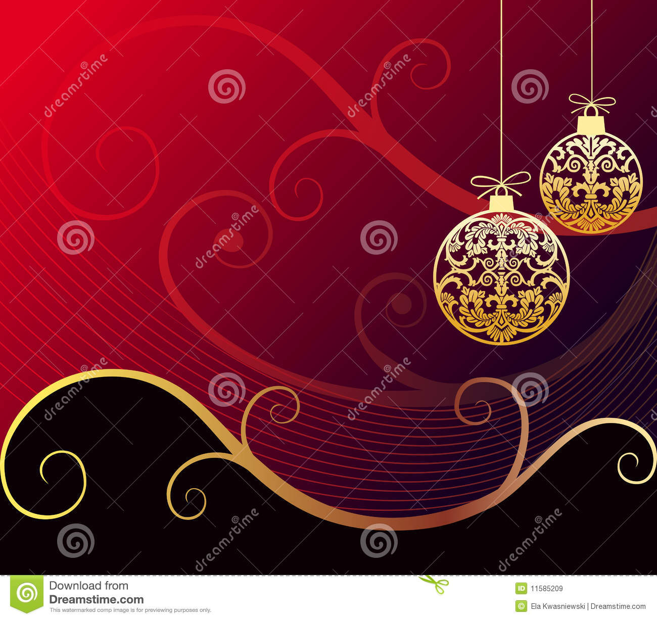 Baroque Christmas Royalty Free Stock Images - Image: 11585209