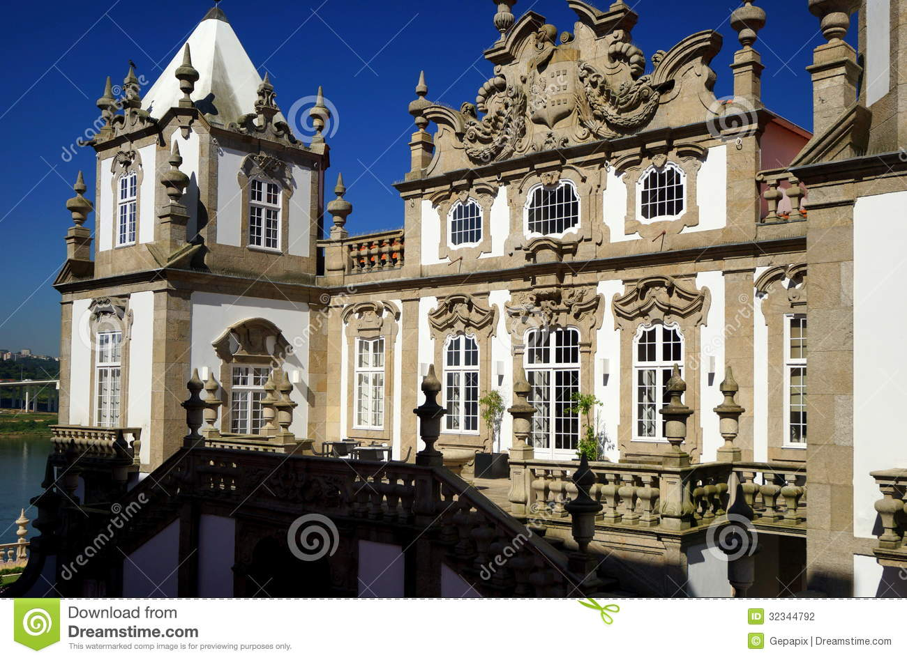 Baroque palace editorial photography image of pousada for Baroque hotel