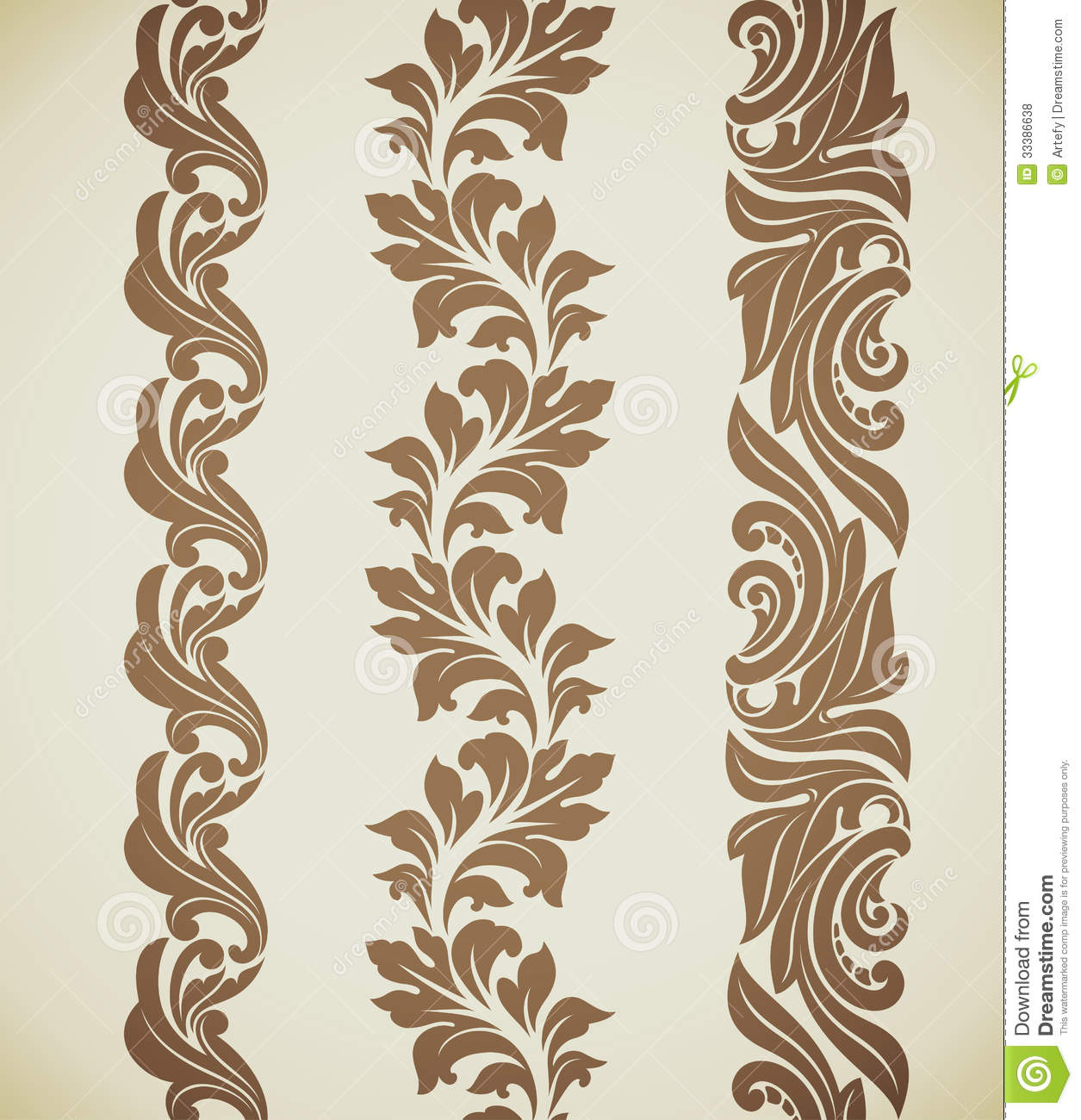 Baroque patterns royalty free stock photos image 33386638 for Baroque design clothes