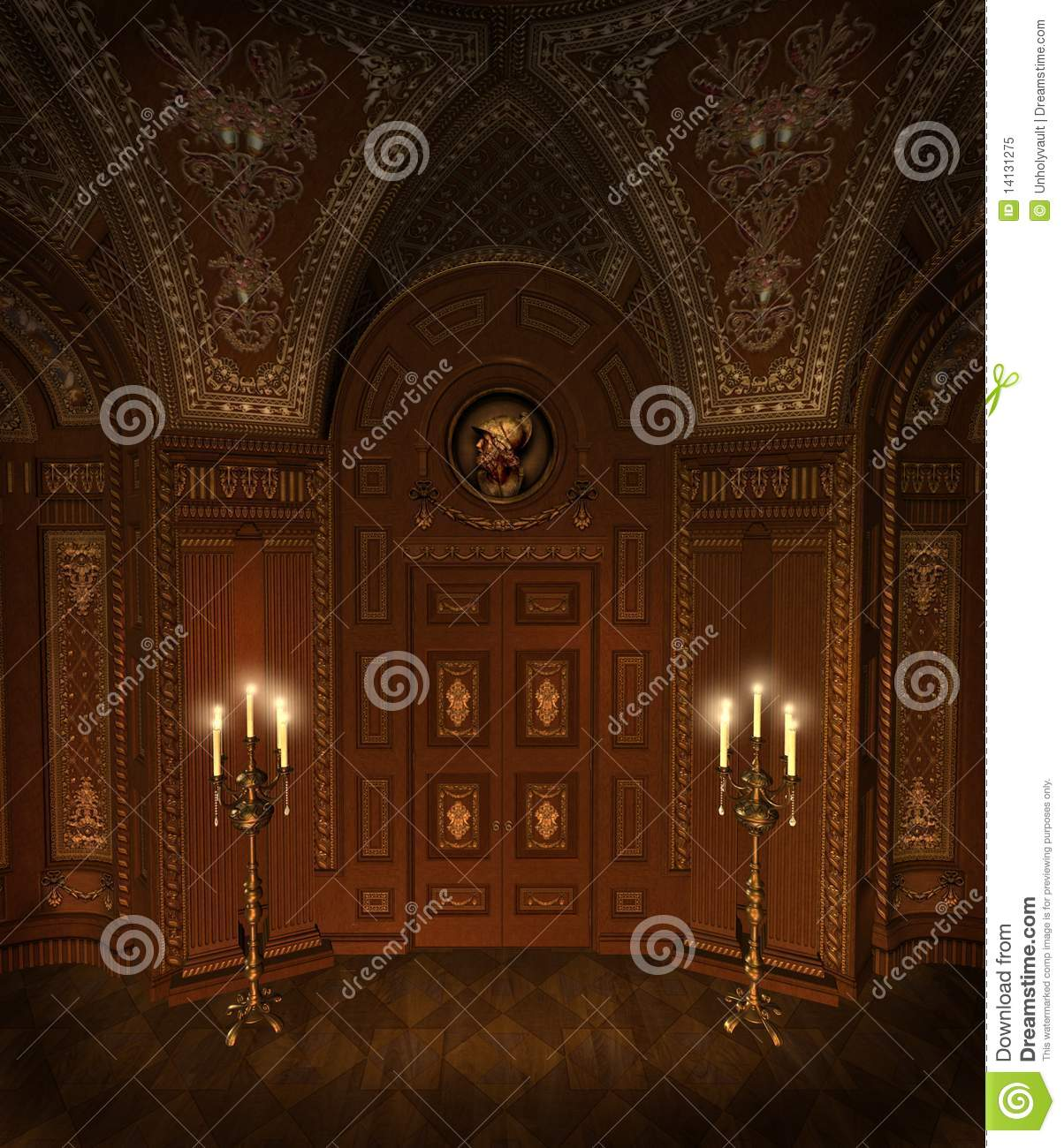 Baroque Room 6 Royalty Free Stock Photo Image 14131275